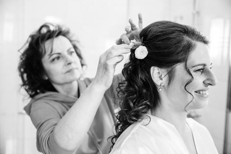 Hochzeit auf Gut Kump Hamm - getting ready