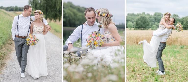 Hochzeitsfotograf Ruhrgebiet Hochzeitsfotos in der Natur
