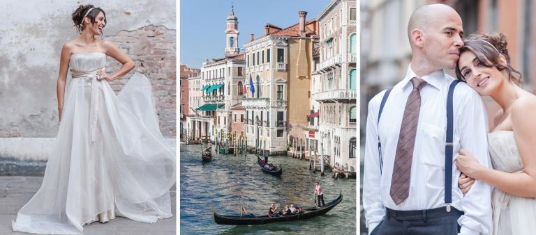 Hochzeitsfotograf Venedig italienisches Brautpaar